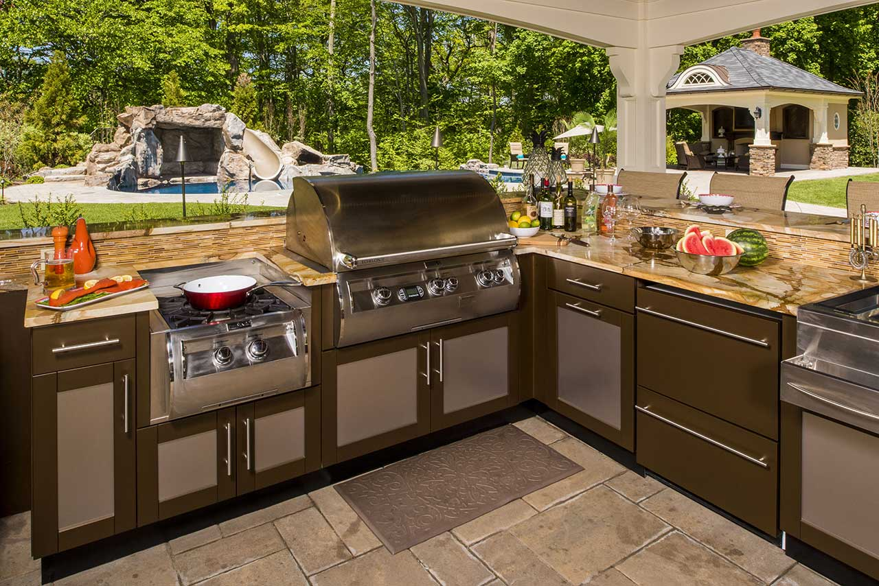 brown jordan outdoor kitchens upholstered kitchen chairs ideas |