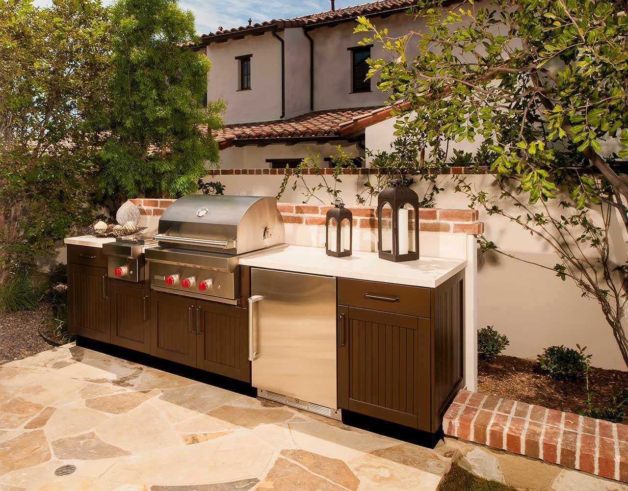 brown jordan outdoor kitchens wooden kitchen countertops design ideas