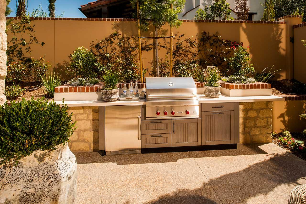 brown jordan outdoor kitchens ashley furniture kitchen sets ideas