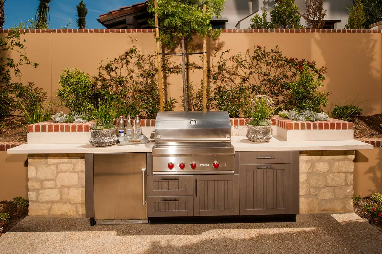 brown jordan outdoor kitchens kitchen toys for toddlers ideas