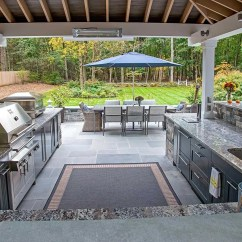 Covered Outdoor Kitchen Contemporary Tables Ideas Things To Consider