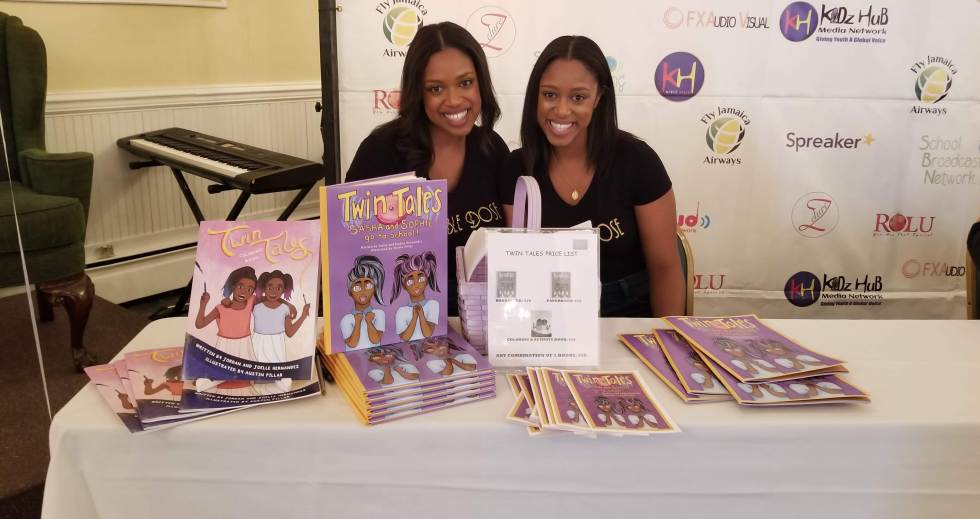 """Twin Tales"" Authors at Brown Kids Read Event"
