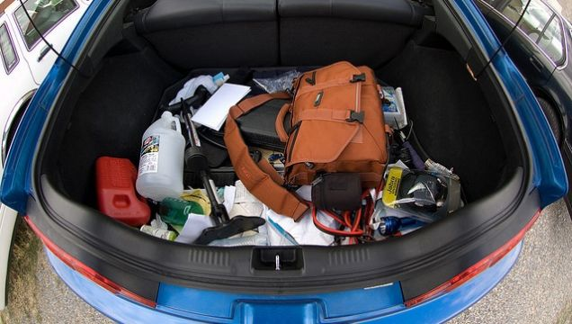 Clean out the car