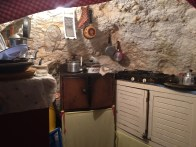 The cave kitchen