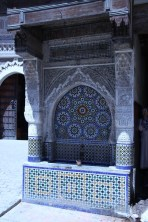 A centuries-old water fountain near the mosque