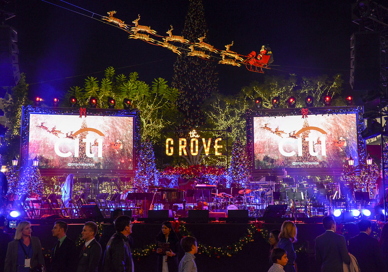 The Grove Tree Lighting