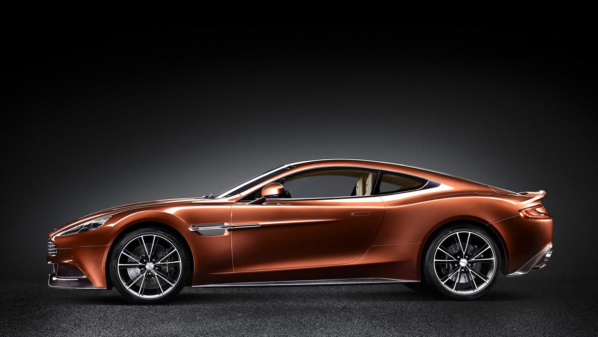 2013 Aston Martin Vanquish  Brown Safe Research Labs