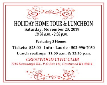 Crestwood Civic Club's Holiday Home Tour & Luncheon