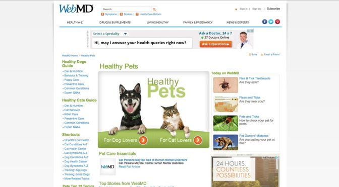 WebMD for Pet Health