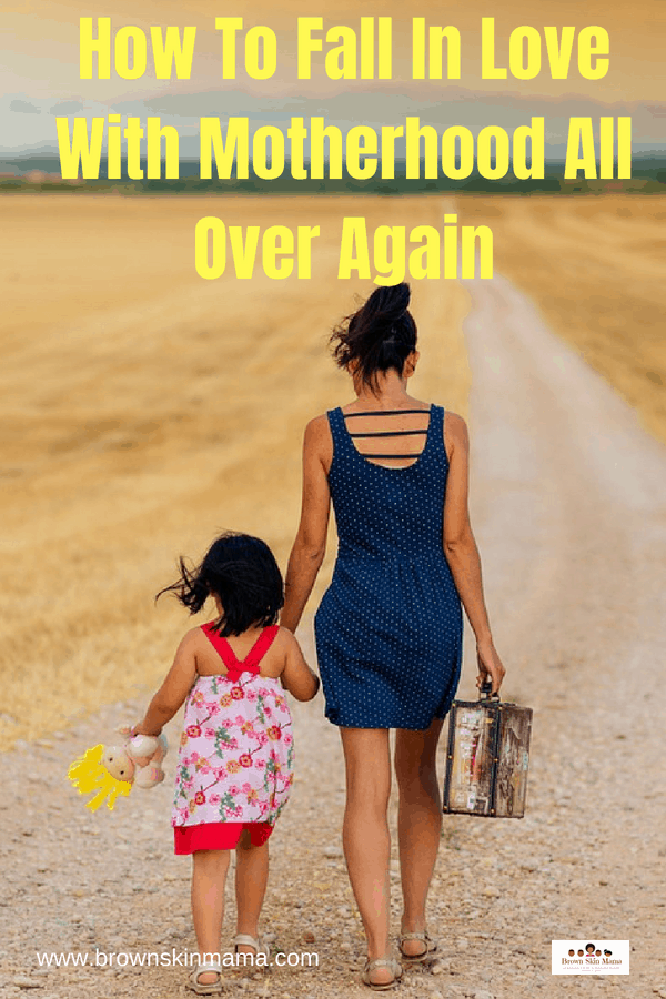 The motherhood journey is never an easy one and sometimes we can fall out of love with it. Here are some great ways to rekindle your mom journey | How To Fall In Love With Motherhood All Over Again | Avoiding Mom Burnout