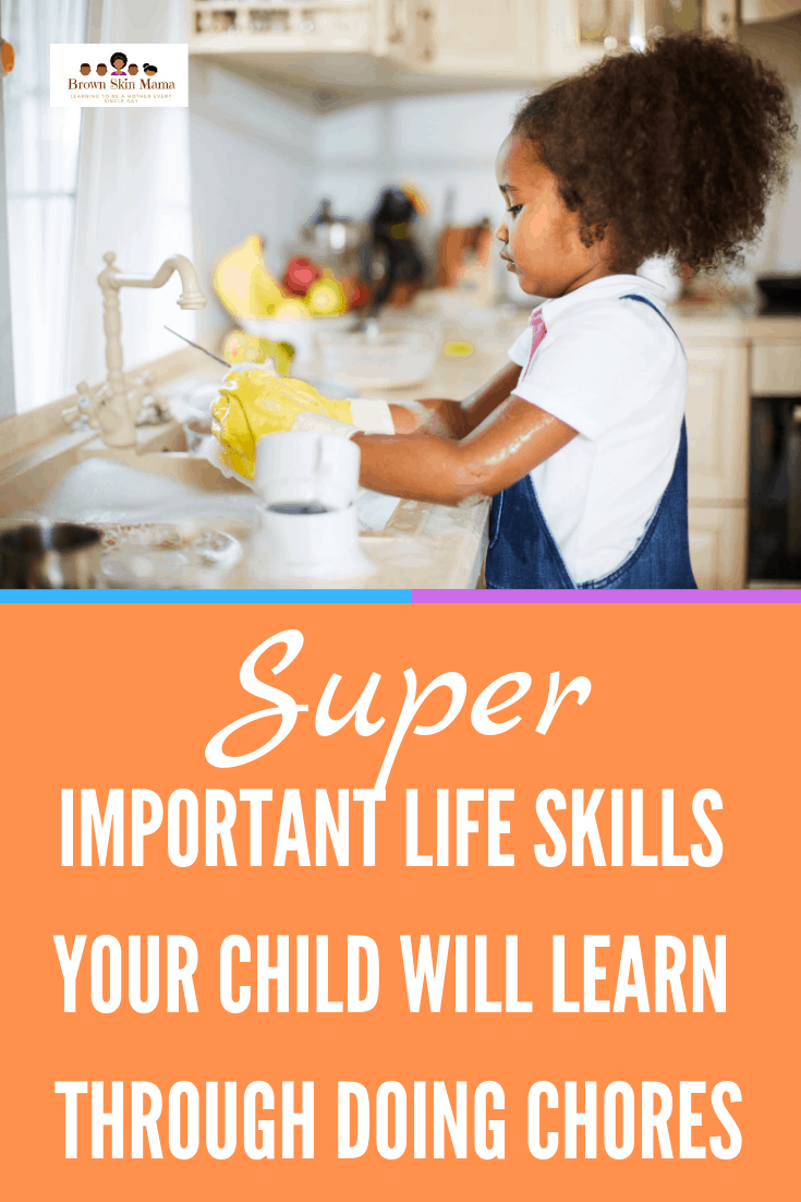 Setting age appropriate chores for kids can be a great way to get them to learn some great life skills. Getting your children to help around the house using a chore chart is an excellent way to start.