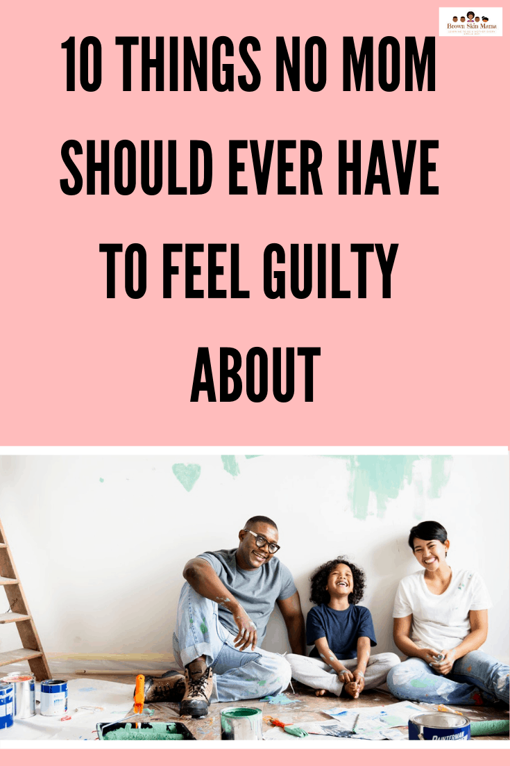 If you are a mom then you will know that mom guilt is a real thing. Often when we stay at home with baby we are made to feel bad about or choices. Here are 10 things you shouldn't have to feel guilty about as a mom