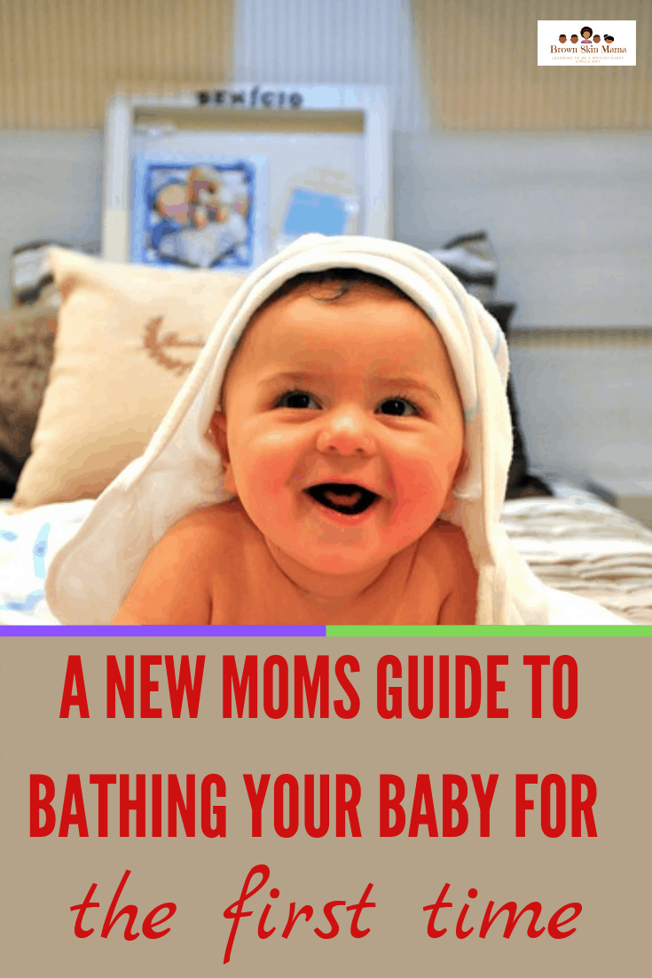 Giving your baby that first bath can seem scary but it really isn't if you use these helpful tips. Your baby's first bath should be relaxed and stress free.