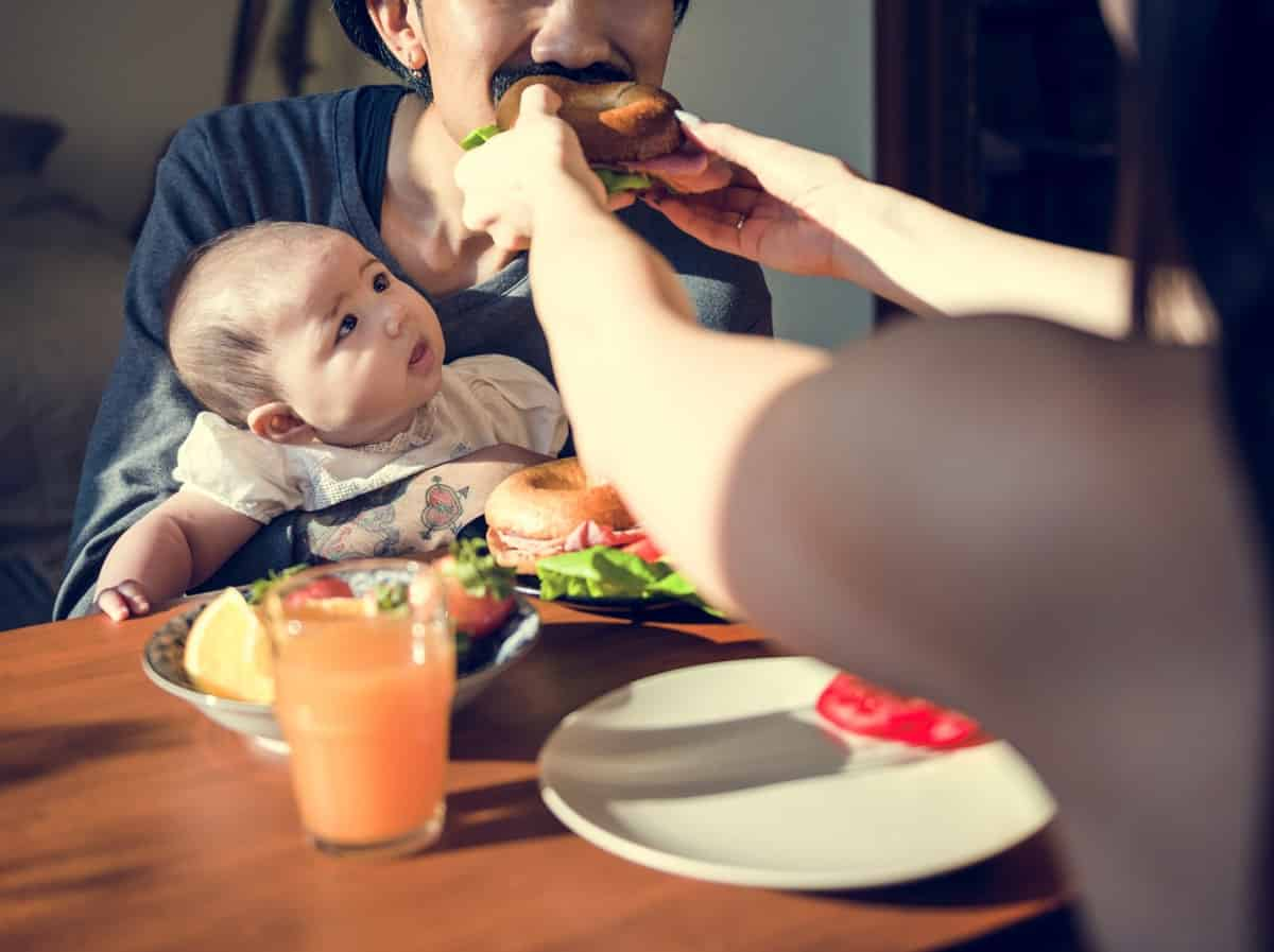 Baby led weaning for new moms