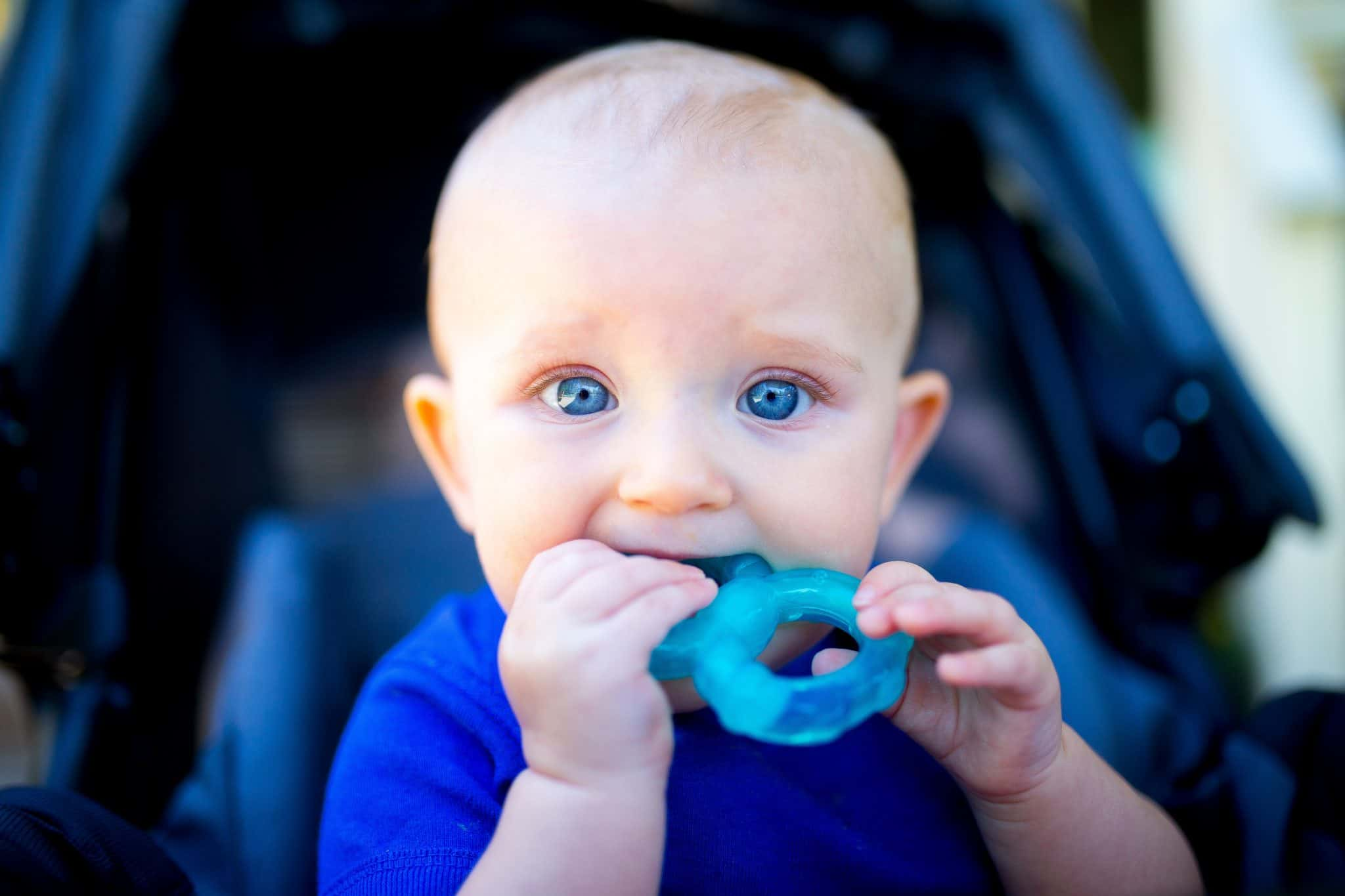teething can make your baby cry more than usual