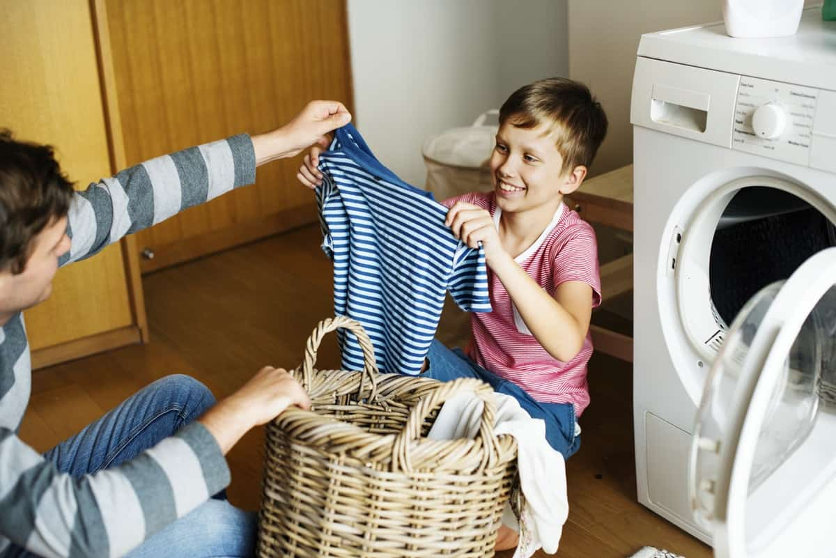 Age appropriate chores for your children