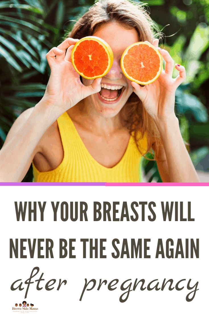 As a new mom its possible after pregnancy you could get saggy breasts before and after breastfeeding. There are little remedies that you can do to hep prevent this from happening.