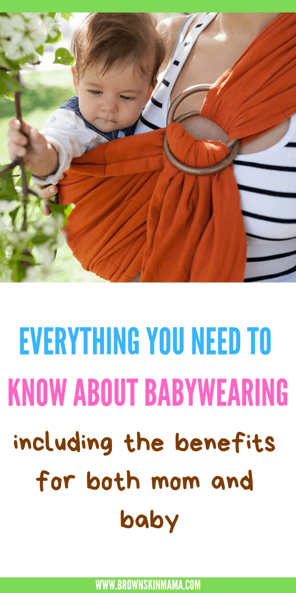 Baby Sling For Newborns Should You Get One Brown Skin Mama