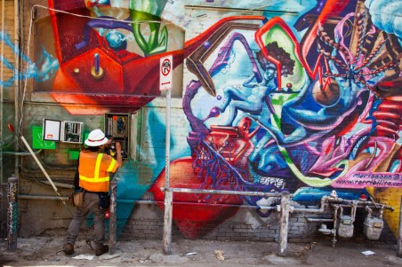 Mural, street art, Venice Beach, Los Angeles, California
