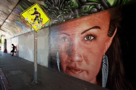 Street Art, Silverlake, Los Angeles, California, USA