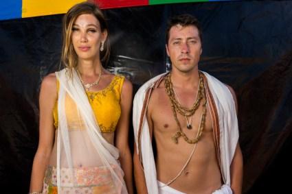 Devotee, 2017 Hare Krishna Festival of the Chariots - 8/6/2017 - Venice Beach, Los Angeles, California, USA