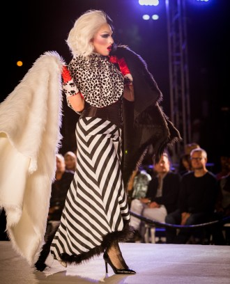 Drag show at Los Angeles Fashion Week at The Pacific Design Center, West Hollywood, California. Sunday, October 16th, 2016 Featureing designs by: Joshua Christensen Maor Luz CA-RIO-CA