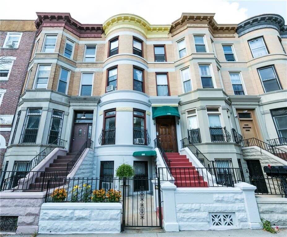 Brooklyn Homes For Sale In Crown Heights At 1265 Bergen