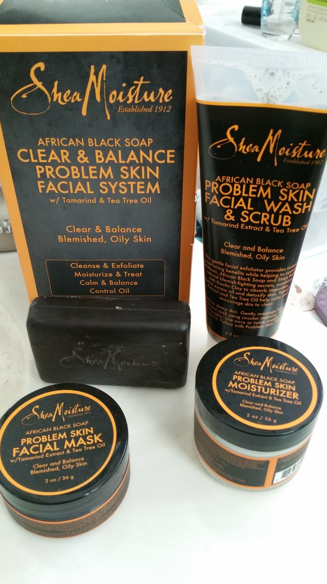 Product Review SheaMoisture African Black Soap Acne Care