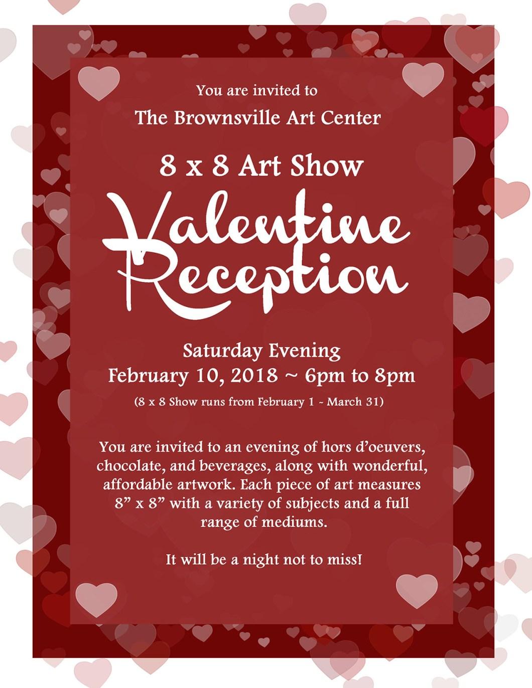 8x8 Art Show - Brownsville Art Association