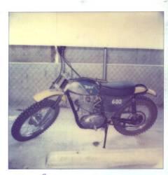 1972 BSA B50MX Before