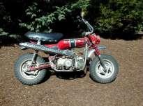 1972 Honda Trail 70