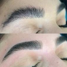Brow Rehab eyebrow threading miami