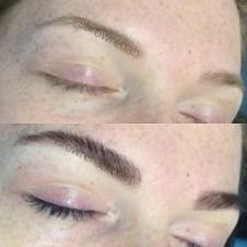 eyelash tinting and eyebrow tinting miami