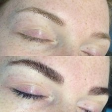 eyelash tinting and eyebrow tinting miami