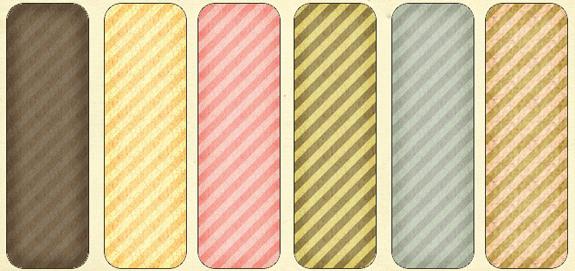 Textured Stripes- 6 Patterns