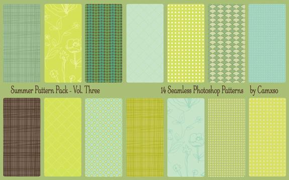 Summer Pattern Pack Vol. 3
