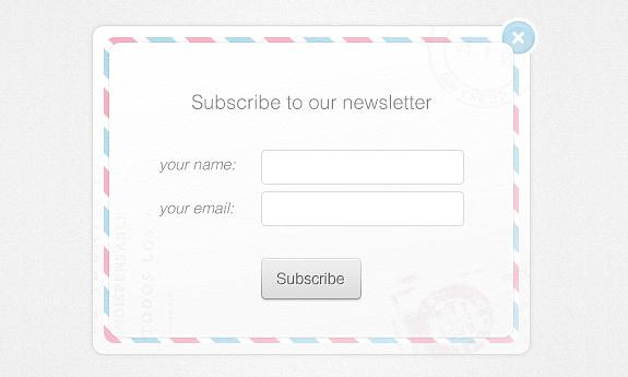 Newsletter Form