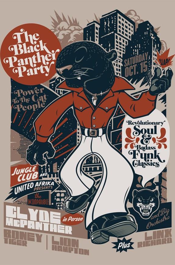 Party Sticker Design