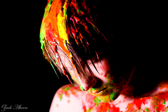 coloured mood photography