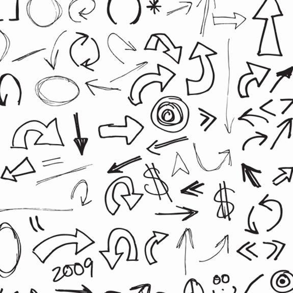 120 Hand Drawn Vector Arrows