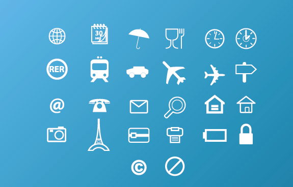 Travel Icons Free Download