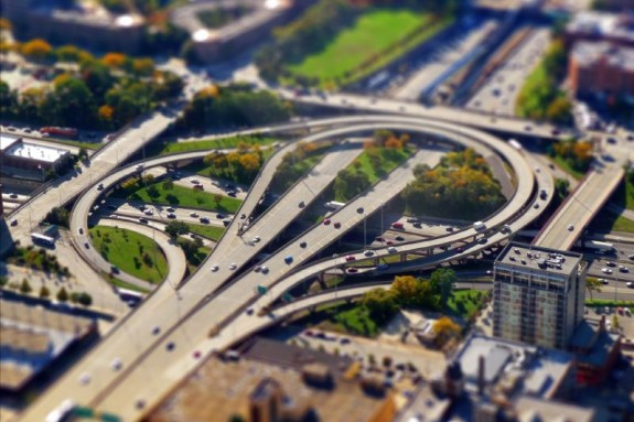 Amazing Picture of Tilt Shift Photography