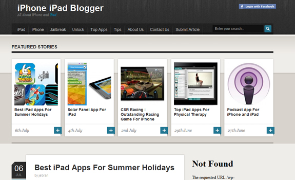 iPhone iPad Blogger