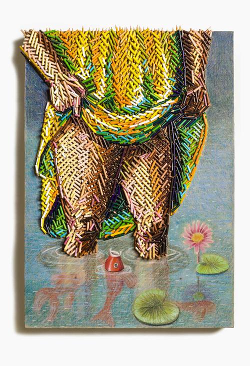 colour pencils creative art