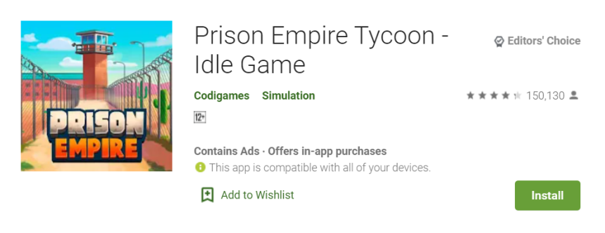 Prison Empire Tycoon for PC