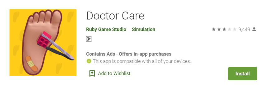 Doctor Care on PC