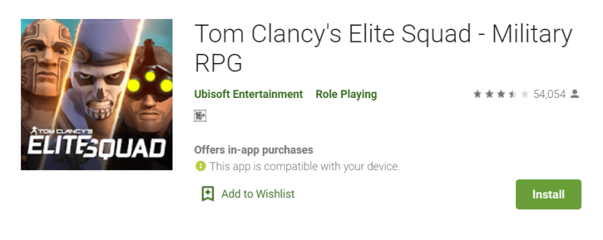 Tom Clancys Elite Squad for Mac