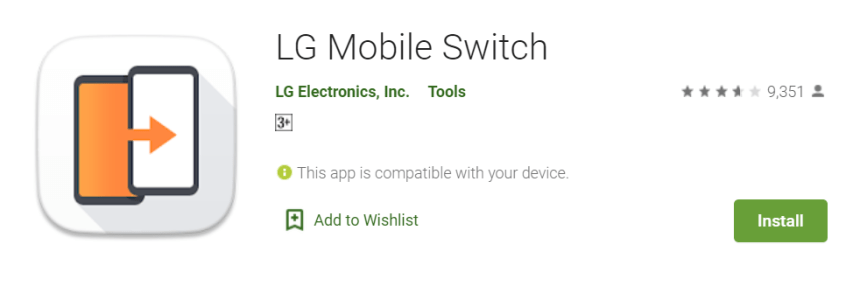 LG Mobile Switch for Mac