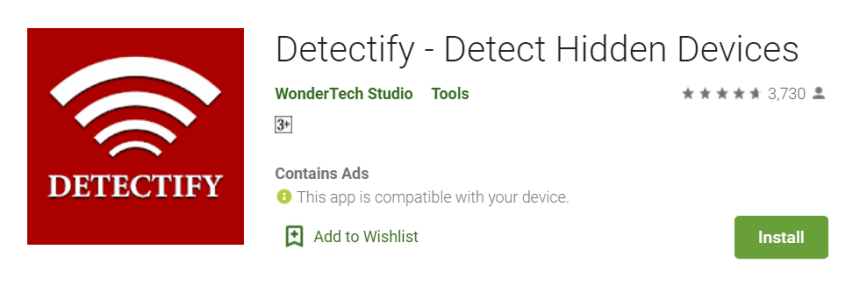 Detectify for Mac