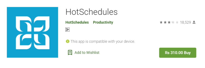 HotSchedules for Mac